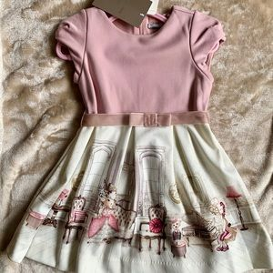 Chic Mayoral Line soft viscose Jersey Dress